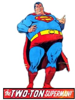 Aladdin as the TWO-TON Superman